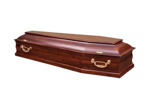 Гроб лакированный М-Скрипка