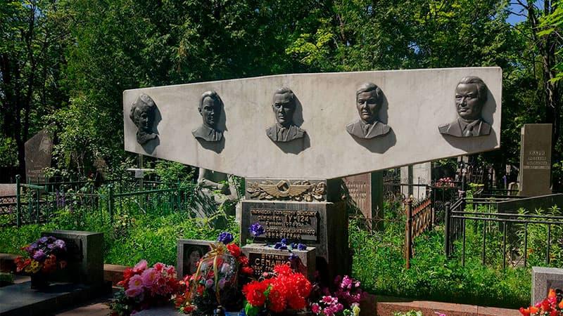 Групповые погребения на Восточном кладбище Минска