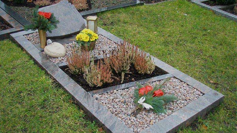 Оформление могильного участка