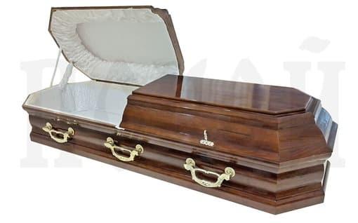Гроб лакированный SOO-1