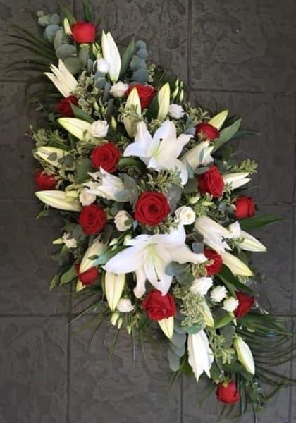Венок из живых цветов «Память»